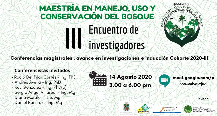 III Encuentro de Investigadores